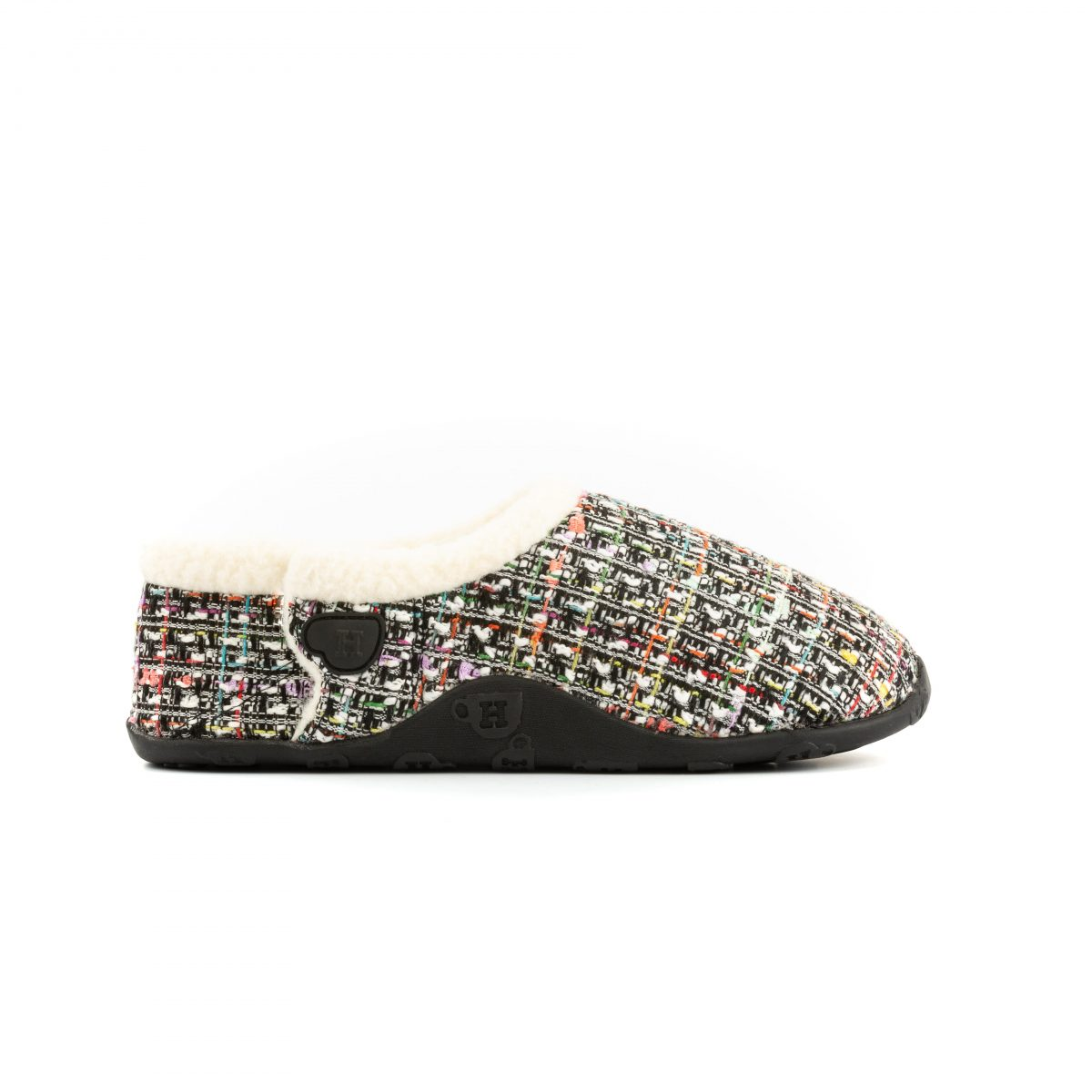 Coco Wht pnk blk tweed W 3 mr