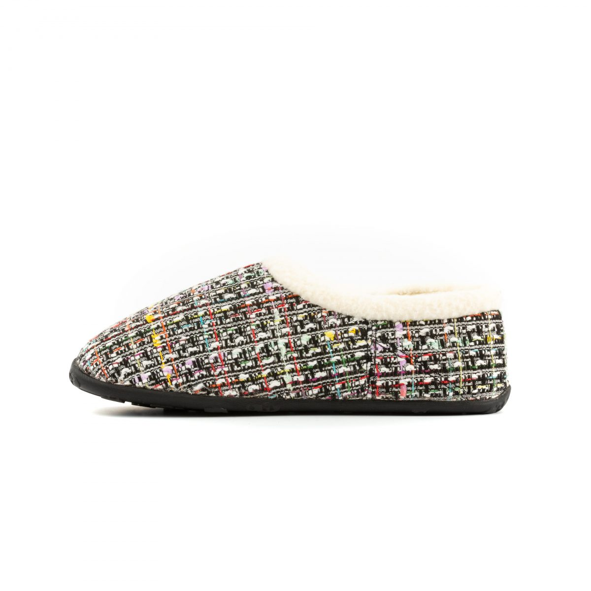 Coco Wht pnk blk tweed W 4 mr